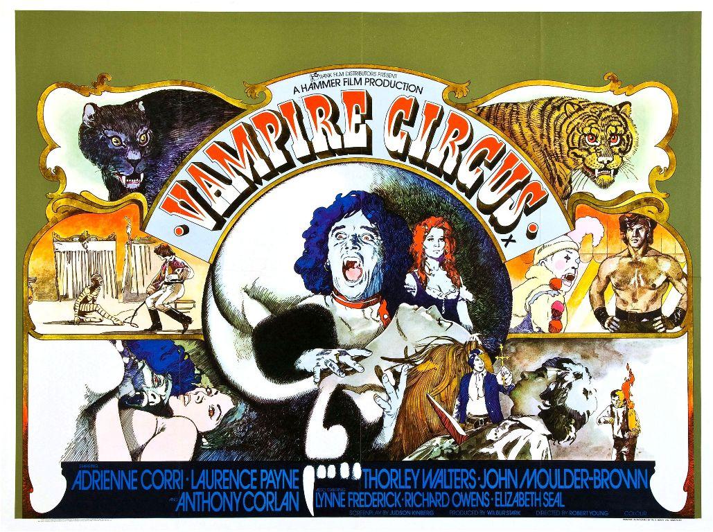 vampire circus poster mensi