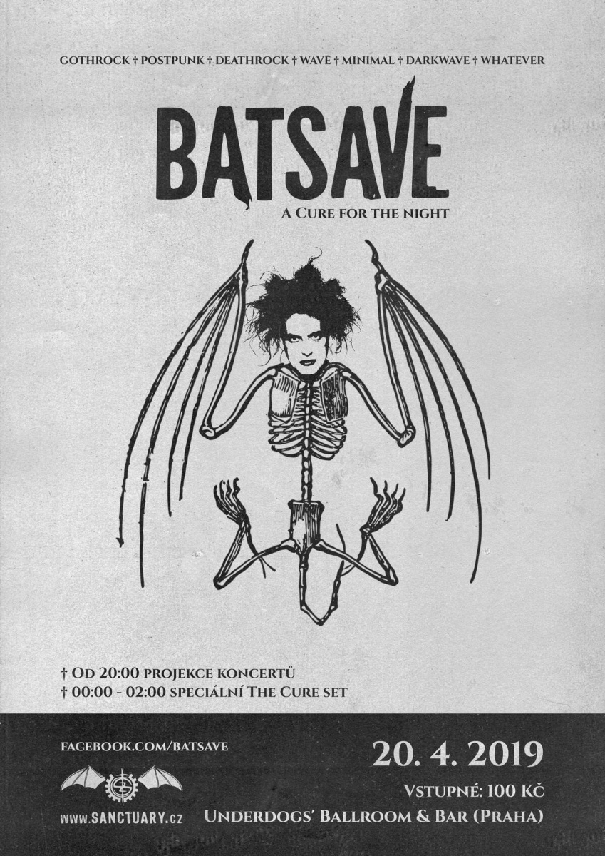 tHE cURE Batsave