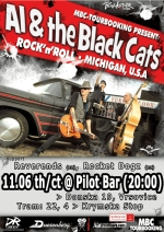 Al and the black cats poster