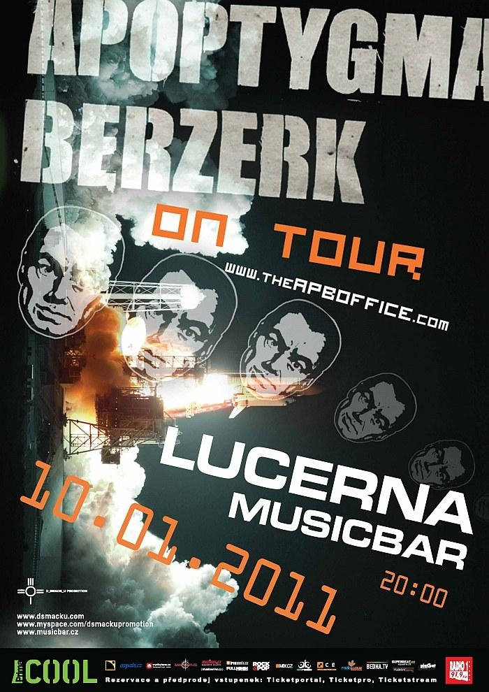 Apoptygma Berzerk v Praze