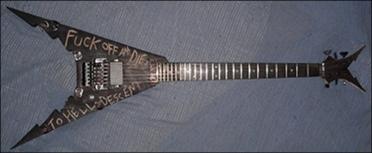 Alien Vampires kytara
