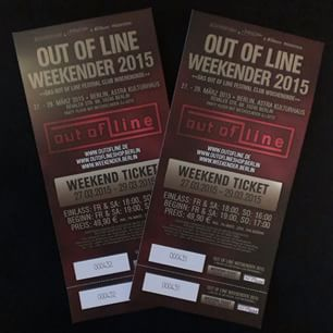 Out of LIne Weekender