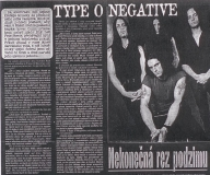 Type O Negative - metal hammer