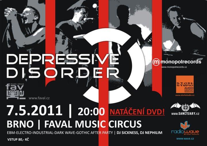 Depressive Disorder natáčení DVD