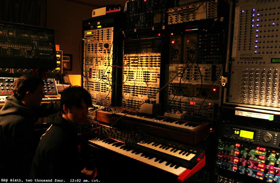 trent-reznor-modular-synth-studio