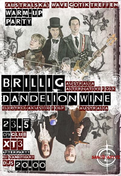 Dandelion Wine and Brilig in Prague