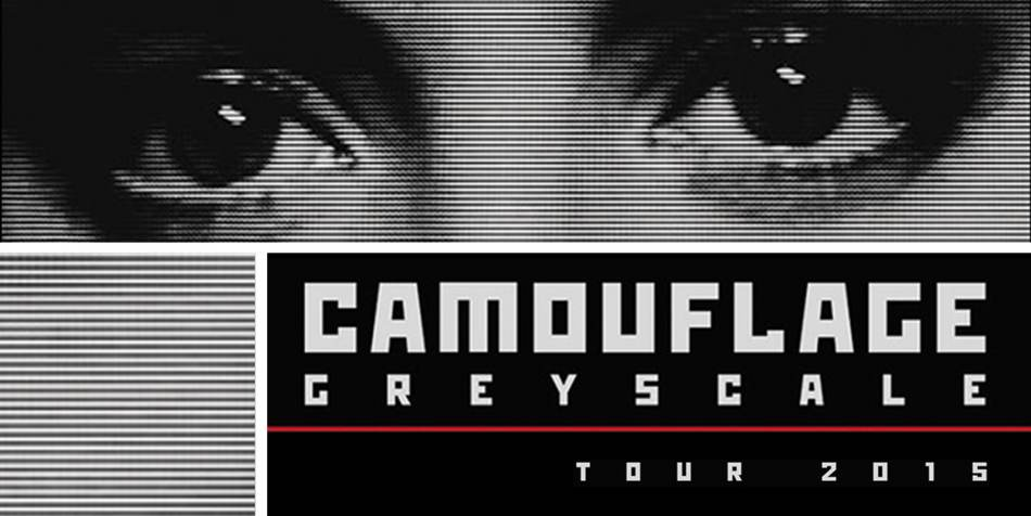 Camouflage - Greyscale tour 2015