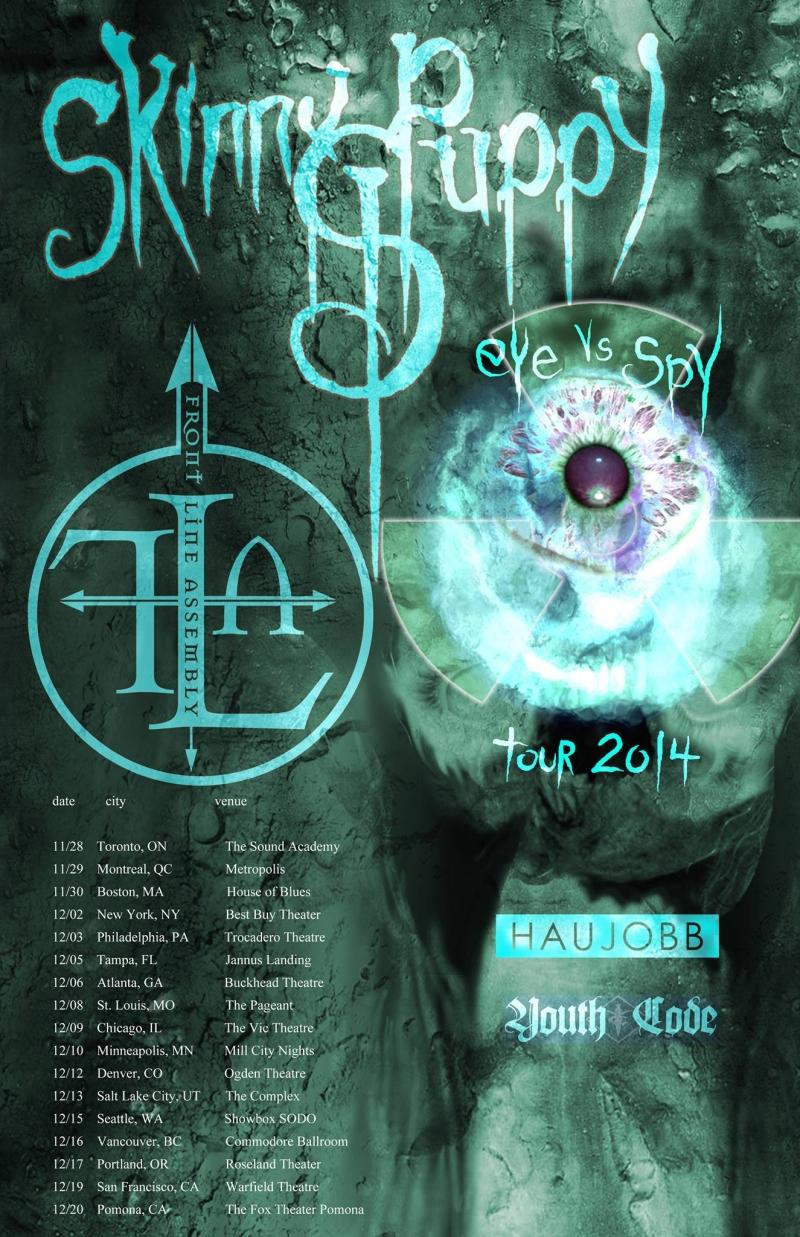 Skinny Puppy  FLA tour 2014
