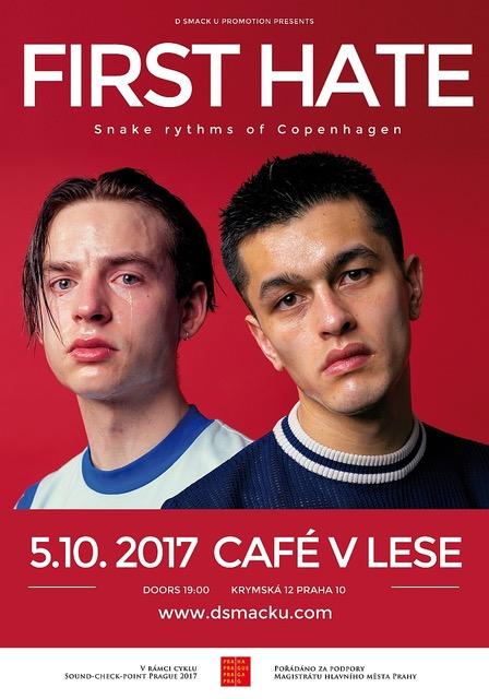 First Hate (DEN) + support: Grand Prix (DEN), Pink Gloves | Sanctuary.cz